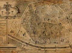 Cosa vedere a Valencia - Antica Mappa di Valencia - Spagna.it .jpg