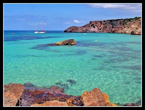 Ibiza - Cala Tarida beach