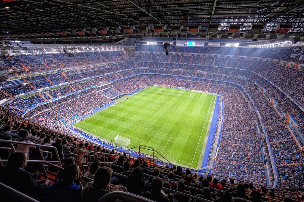 Squadre spagnole in uno degli stadi più spettacolari d'Europa: Santiago Bernabeu
