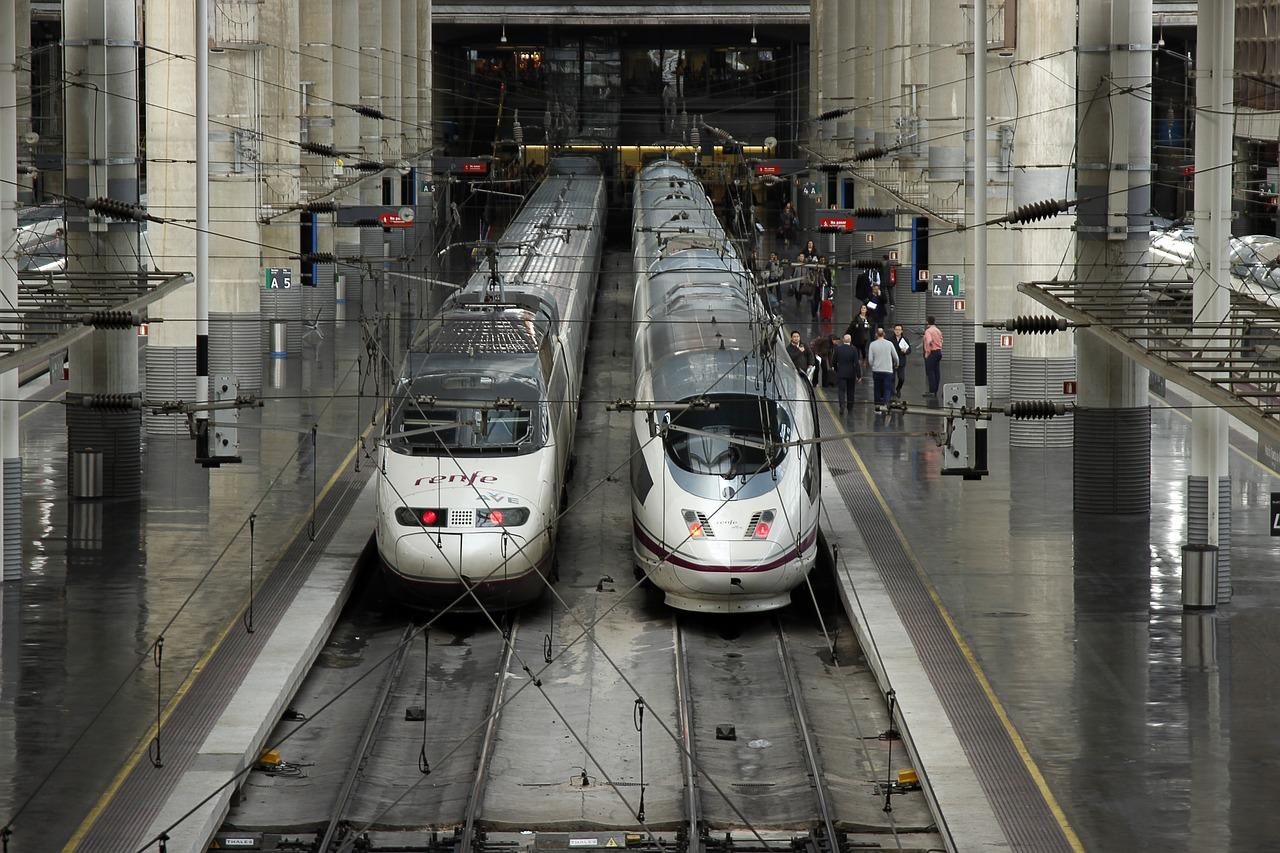come arrivare a madrid - AVE stazione di Atocha - spagna.it