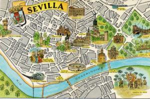 Siviglia Cartina.Cosa Visitare A Siviglia E Malaga Spagna It